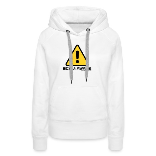 scam-aware.com's line of clothing - Women's Premium Hoodie