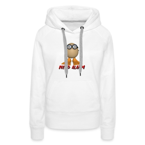 nerd alarm - Frauen Premium Hoodie
