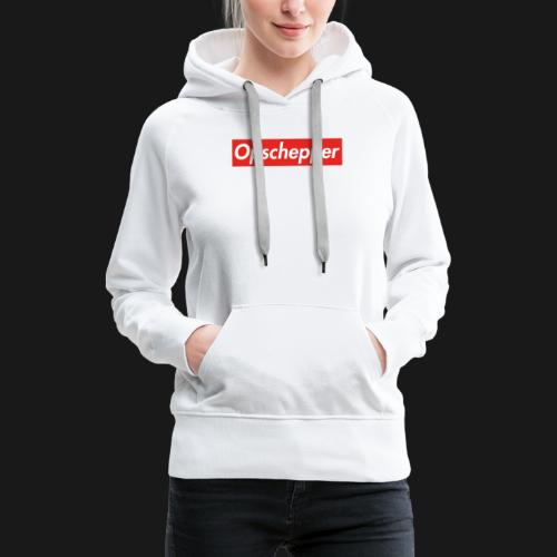 Opschepper Classic (Rood) - Vrouwen Premium hoodie