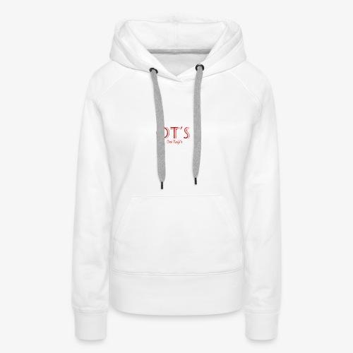 OT's - Sweat-shirt à capuche Premium pour femmes