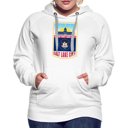 Utah - Salt Lake City - Women's Premium Hoodie