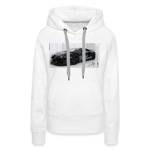 lambo design by blacklyon - Women's Premium Hoodie