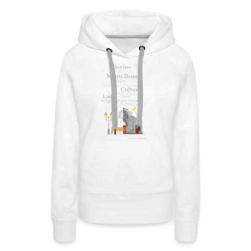Duomo Graphic - Felpa con cappuccio premium da donna