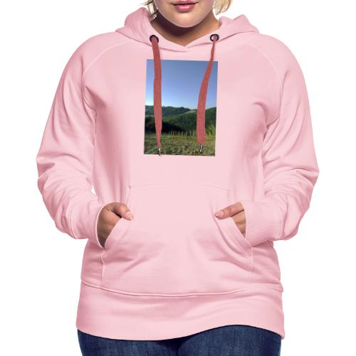 Panorama - Felpa con cappuccio premium da donna
