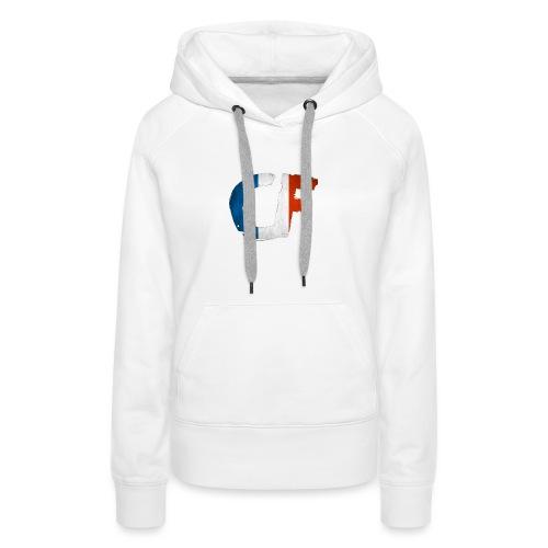 T shirt codfamilya France - Sweat-shirt à capuche Premium pour femmes