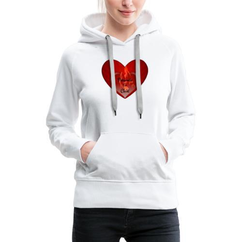 Passionete for christ - Vrouwen Premium hoodie