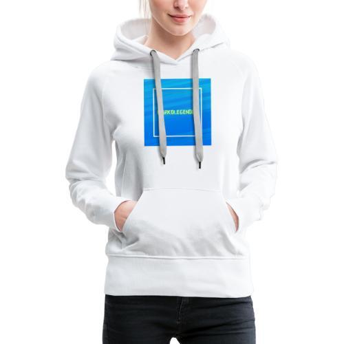 Markolegenden TikTok - Dame Premium hættetrøje