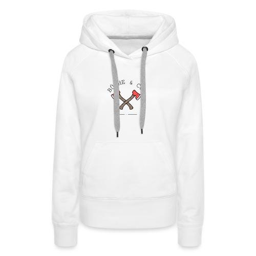Buche&CO - Sweat-shirt à capuche Premium pour femmes