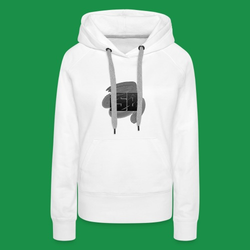 logo simple 1 png - Sweat-shirt à capuche Premium pour femmes