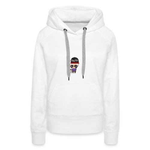 Angry Granny T-shirt - Frauen Premium Hoodie