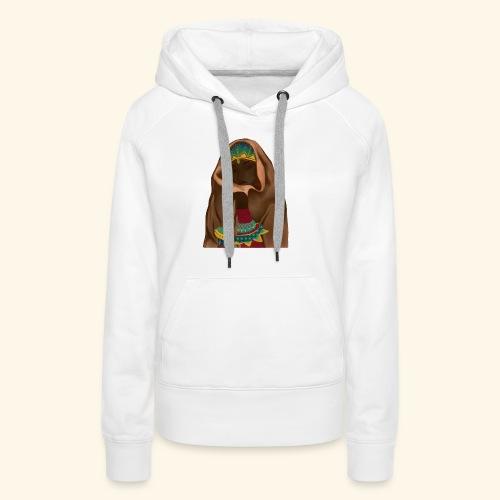 Femme bijou voile - Sweat-shirt à capuche Premium pour femmes