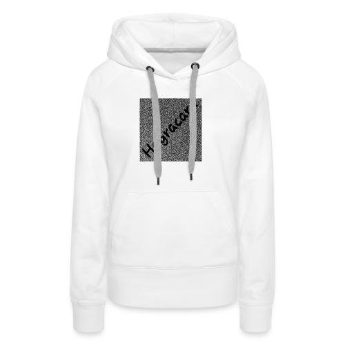 poly bilibang - Sweat-shirt à capuche Premium pour femmes
