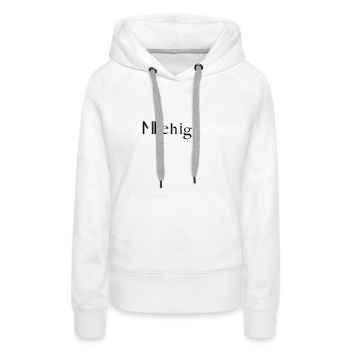 Milehigh Rags Logo Black - Premium hettegenser for kvinner