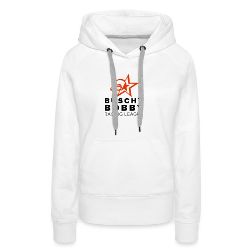 Buschy Bobby Racing League on white - Women's Premium Hoodie