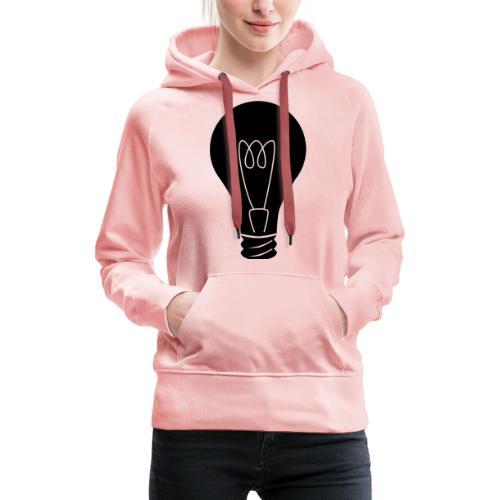 Glühbirne - Frauen Premium Hoodie