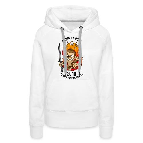 Fire monkey - Women's Premium Hoodie