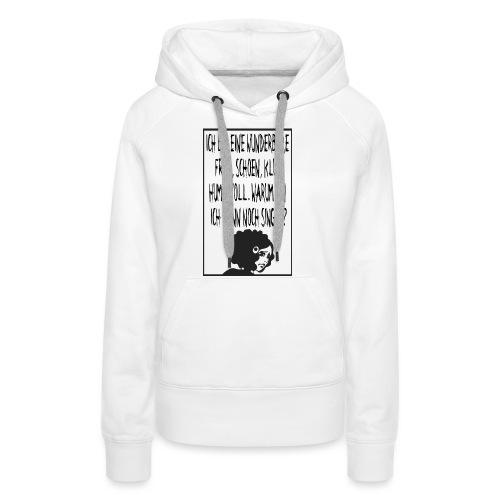 Single Woman - Frauen Premium Hoodie