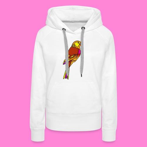Geelgors illustratie - Vrouwen Premium hoodie