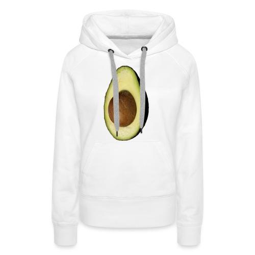 Real Photo Trendy AVOCADO vertical - Frauen Premium Hoodie