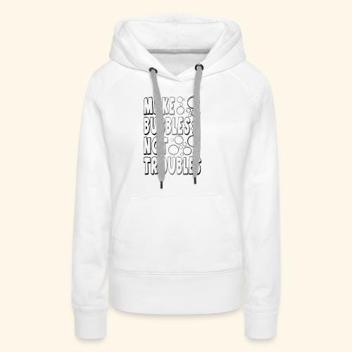 Bubbles002 - Vrouwen Premium hoodie