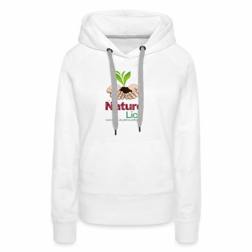 Nature'lich - Sweat-shirt à capuche Premium pour femmes