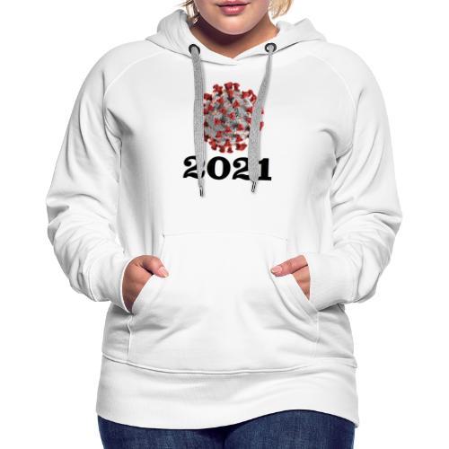 Virus 2021 - Frauen Premium Hoodie