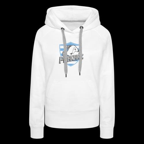 Logo Piranhas v5 - Sweat-shirt à capuche Premium pour femmes