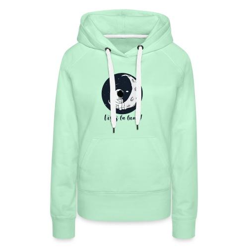 Visez la lune ! - Sweat-shirt à capuche Premium pour femmes