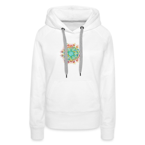 Flower Power - Women's Premium Hoodie