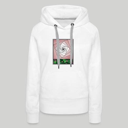 Unendlichkeitsrose - infinity rose - Frauen Premium Hoodie