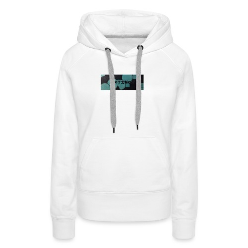 Extinct box logo - Women's Premium Hoodie