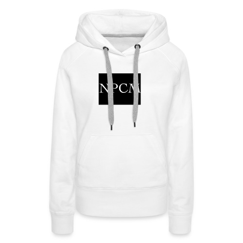 NPCM - Sudadera con capucha premium para mujer