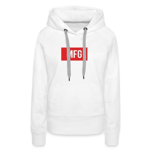 MFG on Youtube Logo - Women's Premium Hoodie