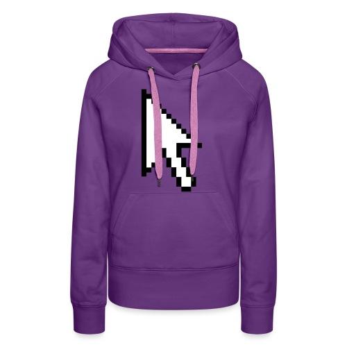 Mouse Arrow - Vrouwen Premium hoodie