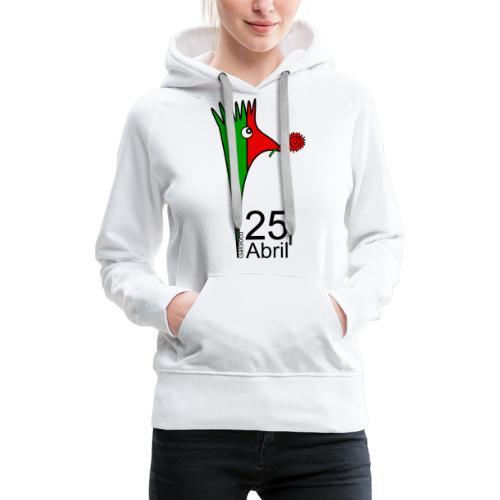 Galoloco - 25 Abril - Sweat-shirt à capuche Premium pour femmes