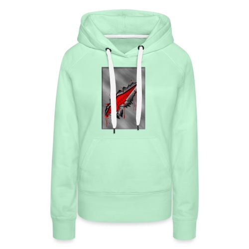 Metal Crack Hyperspace Potato - Women's Premium Hoodie