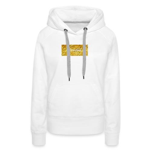 Scripted. Box Logo - Women's Premium Hoodie