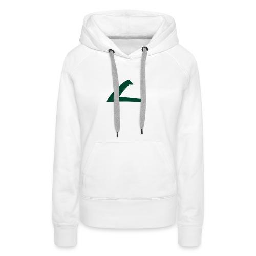 PKMN Cap Logo - Women's Premium Hoodie