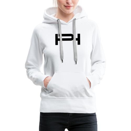 PH logo black - Women's Premium Hoodie