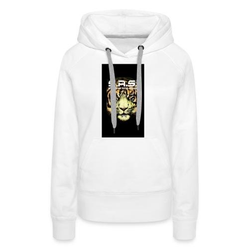 sas tiger wide jpg - Vrouwen Premium hoodie