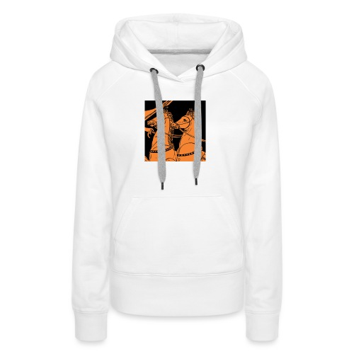 Antaon - horses - Sweat-shirt à capuche Premium pour femmes