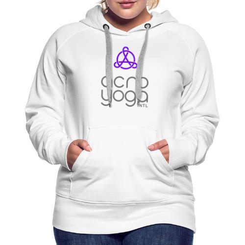 AcroYoga International Logo - Women's Premium Hoodie