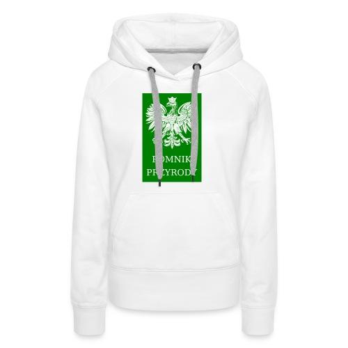 POL_Pomnik_Przyrody-svg - Bluza damska Premium z kapturem