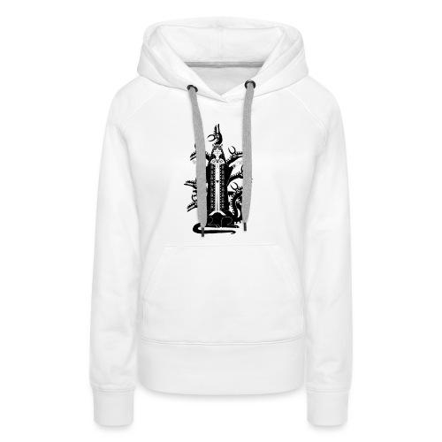 Babylone La grande - Sweat-shirt à capuche Premium pour femmes