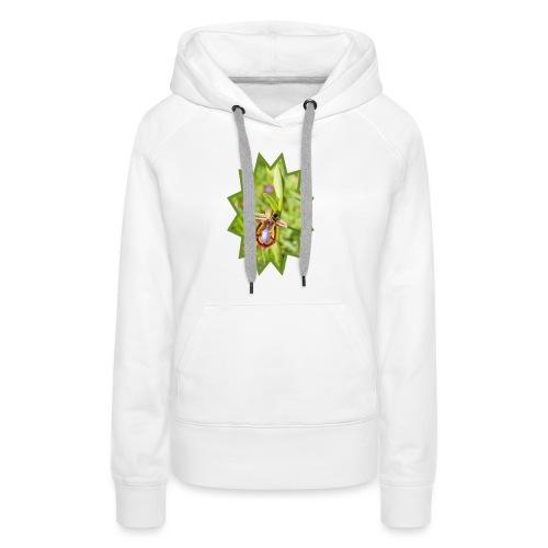 ORCHIDEES 1 - Sweat-shirt à capuche Premium pour femmes