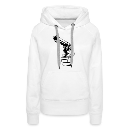pray for you - Sweat-shirt à capuche Premium pour femmes