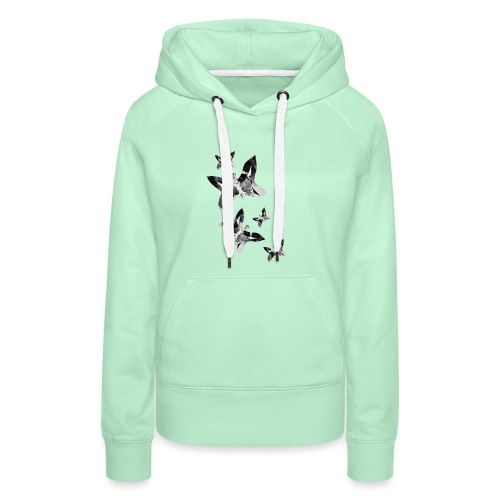 Schmetterlinge - Frauen Premium Hoodie