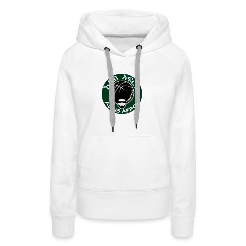 Afros greencicrcle bb - Frauen Premium Hoodie