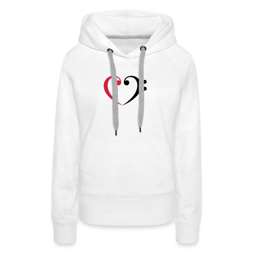 br lb heart - Frauen Premium Hoodie