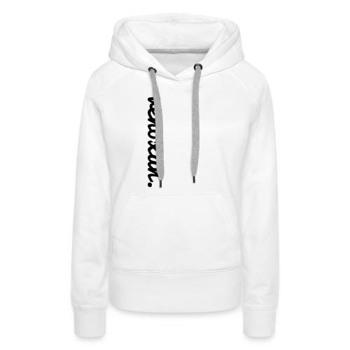 venoxan T-Shirt mit Schriftzug an der Seite - Women's Premium Hoodie